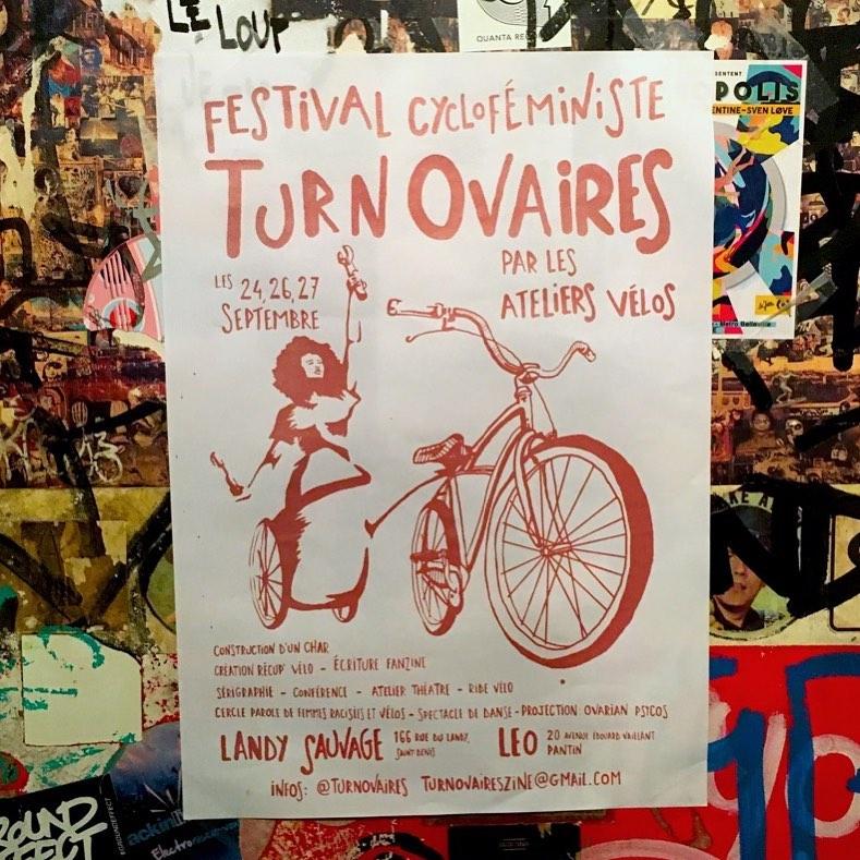 Le festival Turn Ovaires revient la semaine prochaine pour une édition d'automne ! Allez voir leur compte pour accéder au programme et n'hésitez pas à en parler autour de vous ️