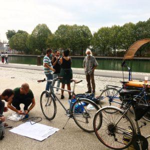 Atelier mobile au Parc de la Villette ♀️🏾♂️🏻